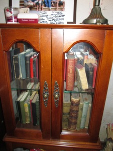 Antique Book Cabinet