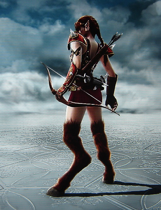 Fantasy Character - Faun Knight created by Benjamin T. Collier in Soul Calibur 5