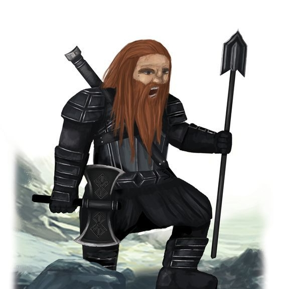 Dwarf from The Fellowship Of The King by Lynne Collier