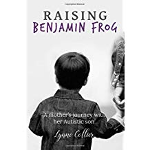 Raising Benjamin Frog second edition shows a young boy holding an adult's hand facing away from the reader.