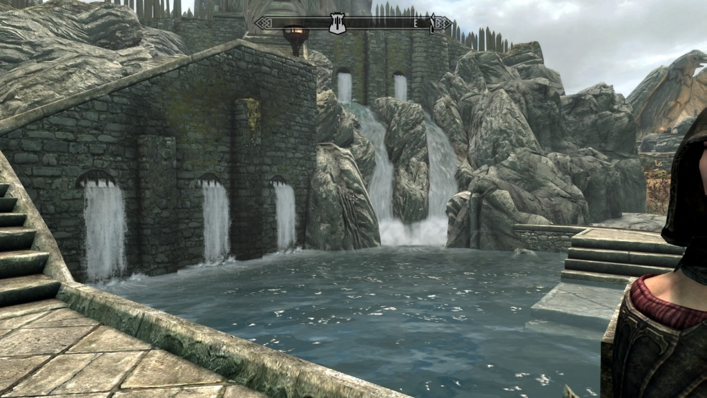 Skyrim Whiterun waterfalls